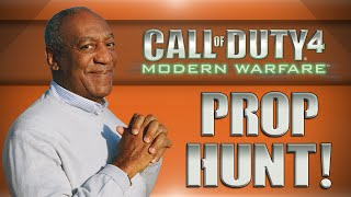 COD4 Prop Hunt! - Gimme A Letter Game Show, Bill Nogla Cosby, Sexy Mattress