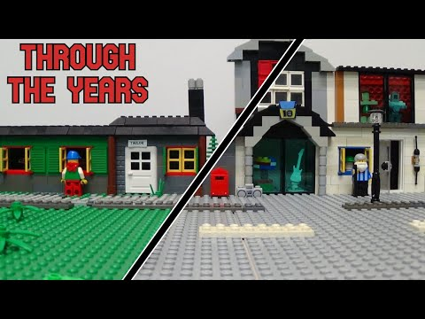 Through The Years (Lego Animation)