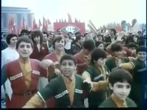 Azerbaijan  Soviet Parade 1985 in Baku