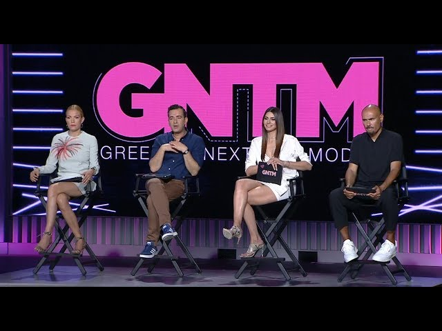 GREECE'S NEXT TOP MODEL - 9.9.2019 - Επεισόδιο 2 #GNTMgr