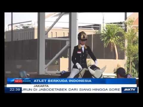 Atlet Berkuda Jawa Tengah Ivana Putri Santosa