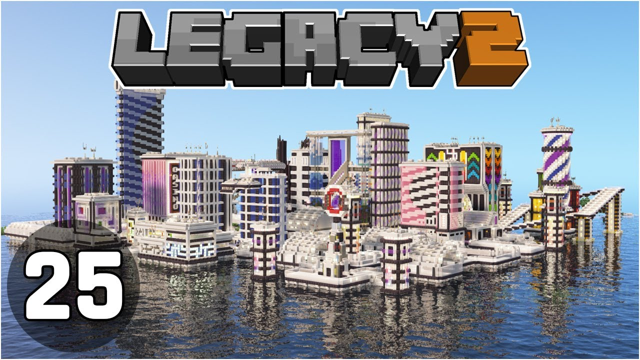 City Complete.... What have we done?! - Legacy SMP 2: #25 | Minecraft 1.16 Survival Multiplayer