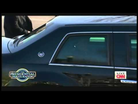 "President Obama Motorcade ""The Beast"" Inaugural Parade (January 21, 2013)"
