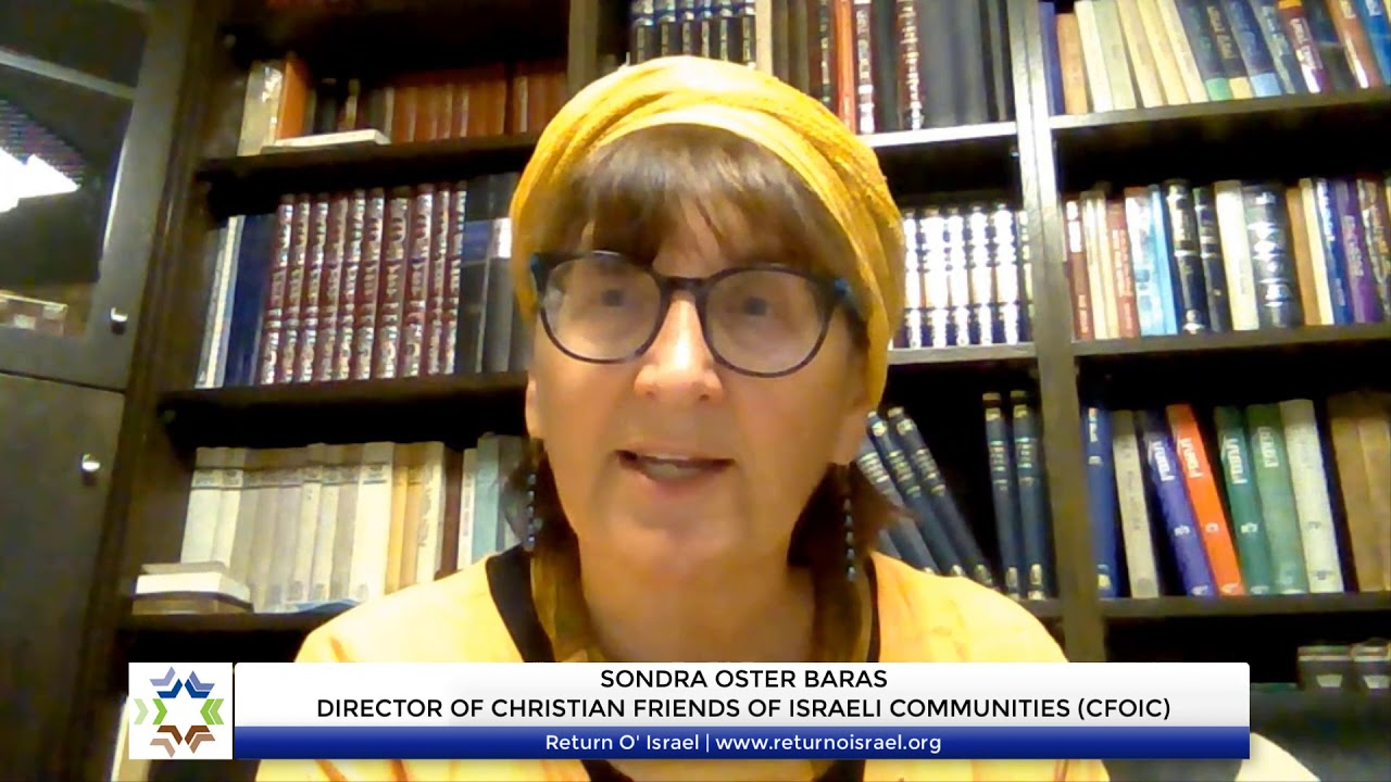 What Christian's Need to Know About Sovereignty in Israel - Part 1: Sondra Oster Baras