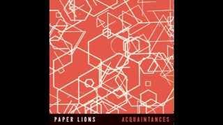 Paper Lions - My Friend (Whaleskin Remix)