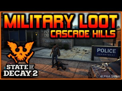 """MILITARY LOOT GUIDE"" for Cascade Hills 