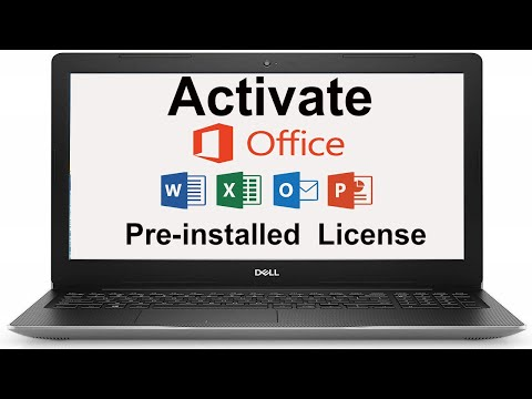 Fix Office Activation Issue With Pre Installed OEM License (Dell, HP, Lenovo Etc)