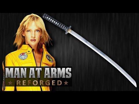 Hattori Hanzō Katana (Kill Bill) - MAN AT ARMS: REFORGED