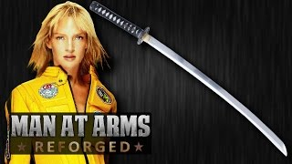 Hattori Hanzō Katana (Kill Bill) - MAN AT ARMS: REFORGED(Thanks to Smith & Forge for helping us build this episode! Get AWE me Gear! ▻▻ http://brk.cm/AWEMerch Which weapon will be next? Subscribe!, 2015-07-13T17:00:54.000Z)