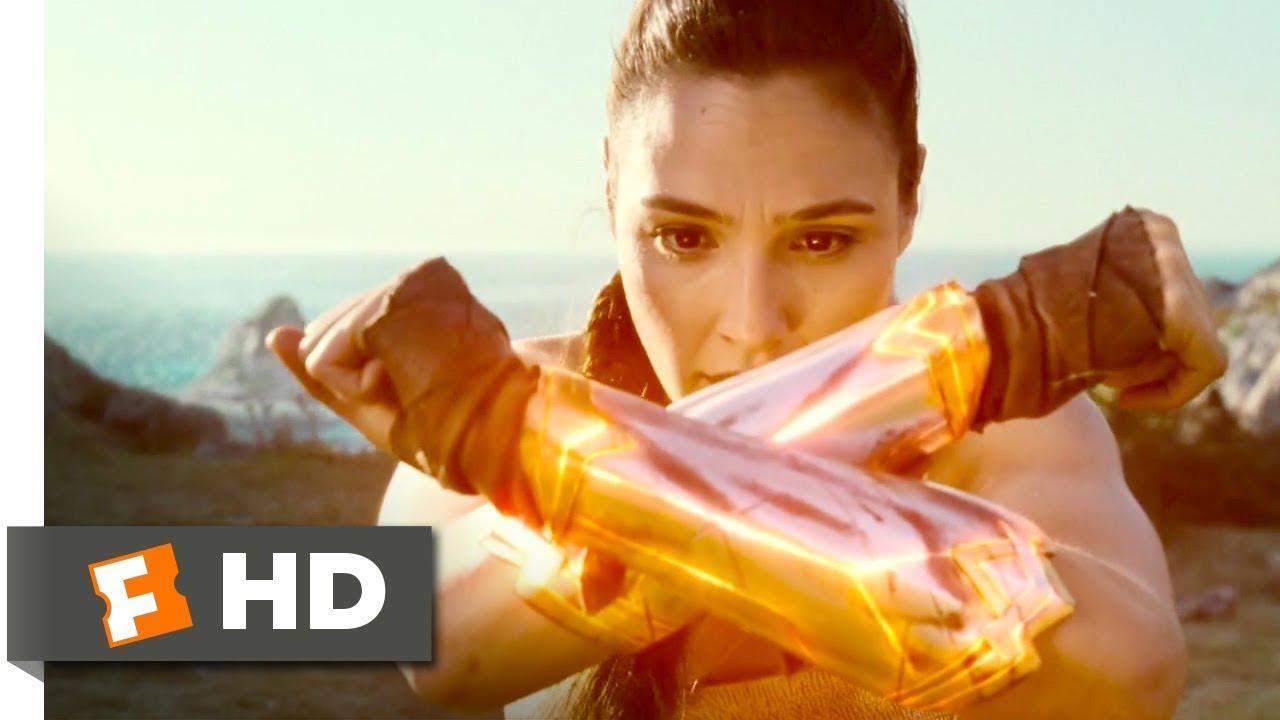 Wonder Woman 2017 Dianas Training Scene 110 Movieclips