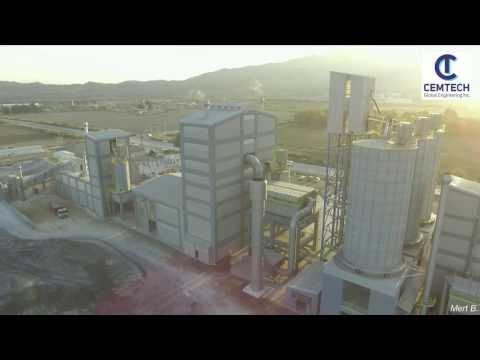 100t/h Cement Grinding Center - Aydın / Turkey