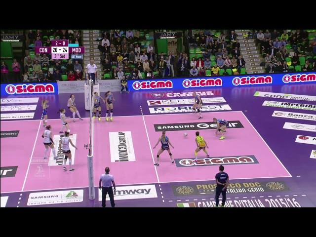#videoemozioni. Imoco Volley Conegliano - Liu Jo Nordmeccanica Modena