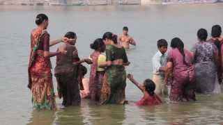 The other side of the Ganges