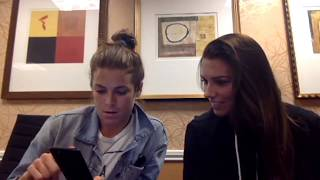 Alex Morgan and Kelley O'Hara Full Facebook Live Q&A