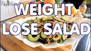 Weight Lose Salad Cucumber Salad Best Healthy Cucumber Recipe Weight Lose Salad !!