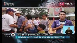 Serbu GBK, Warga Antusias Saksikan Final Badminton & Penutupan Asian Para Games - iNews Siang 13/10