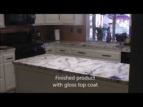 Countertop remodel on a budget!