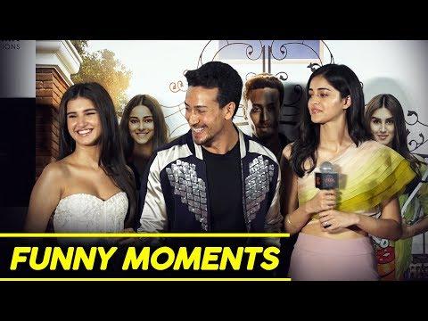 Student Of The Year 2 Trailer Launch | Funny Moments | Tiger Shroff, Ananya Pandey, Tara Sutaria