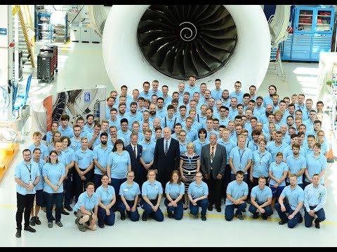 Rolls-Royce | 20 Jahre Ausbildung bei Rolls-Royce Deutschland