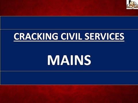 Mains Strategy for UPSC || Civil Services || IAS Exam