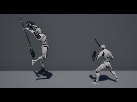 UE4 - Dynamic Combat System Implementation