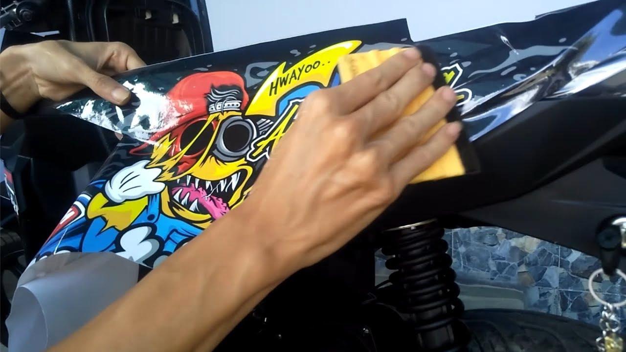 Decal Sticker Honda Beat Esp Minion Zombie Vector Full Body Original Youtube