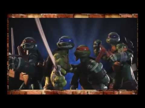 TMNT Черепашки Ниндзя игровые фигурки, промо видео