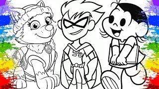 Family Friendly Videos e Desenhos Animados em Português Brasil | Livro de Colorir Videos Educativos