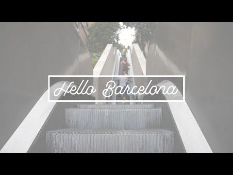 Hello Barcelona!