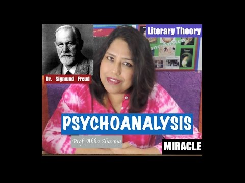 English Literary Theory : Psychoanalysis : Sigmund Freud