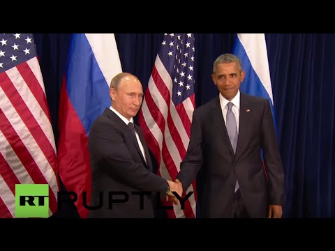 USA: Putin meets Obama on sidelines of UNGA
