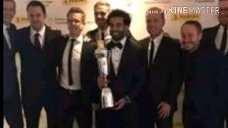 محمد صلاح يفوز بجائزة افضل لاعب فى الدورى الانجليزي 2018 - مبروك الفرعون المصرى