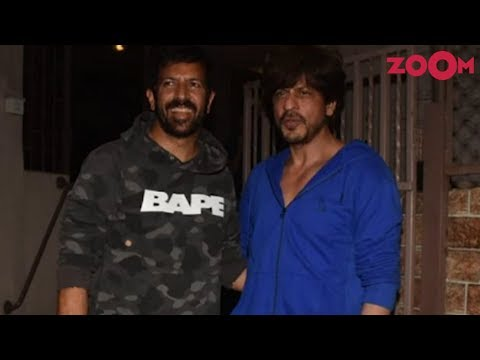 Is Shah Rukh Khan working on a project with Kabir Khan and to come out of his sabbatical soon?