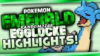 HIGHLIGHT MONTAGE!   Pokémon Emerald Randomized Egglocke w/ KingCorphish!