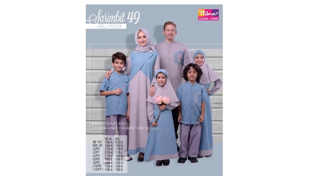 Baju Muslim 2018 Baju Gamis Terbaru Jual Baju Muslim Nibras