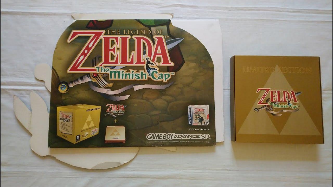 Retro Video Game Promo Collection (PART 128) – Zelda The Minish Cap Standee (Nintendo,GB Advance)