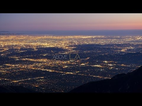 Above LA: gorgeous timelapse of Los Angeles, as seen from the air.