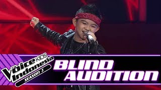 Download Moses - Welcome To The Jungle    Blind Auditions   The Voice Kids Indonesia Season 3 GTV 2018
