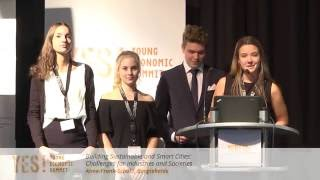 YES! 2016 - Smart Tram, Smart Cities – Blueprint of our Future - Anne-Frank-Schule Bargteheide