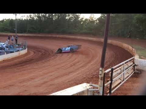 Limited late models hotlap qualifying Laurens county speedway