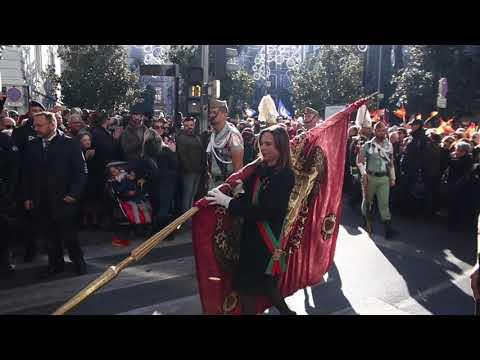 La celebración de la Toma de Granada, entre insultos y banderas