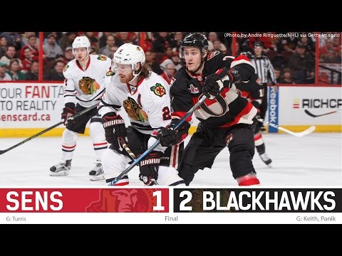 March 16: Sens vs. Blackhawks - Post-game Media