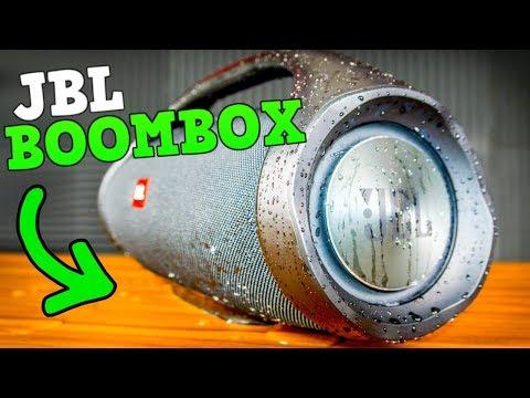 JBL Boombox Recenzja, WATERPROOF TEST!
