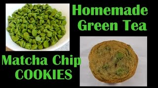 Matcha Green Tea Chip Cookies- With Yoyomax12