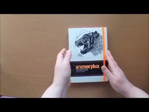 Animorphia Notebook By Kerby Rosanes Colouring Book Flip Through