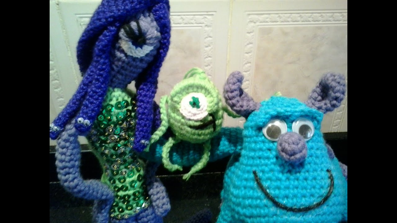 Free Crochet Monsters Inc. Sully Coffee Cup Cozy Pattern | 720x1280