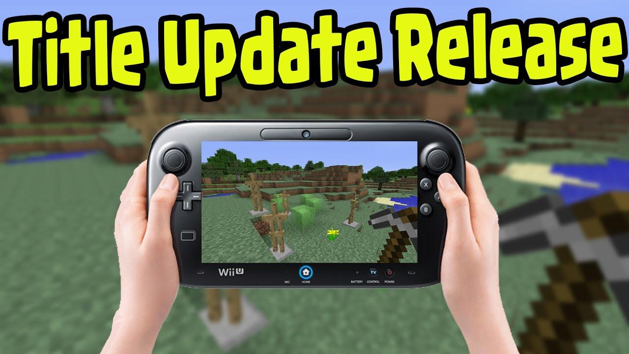 Minecraft Wii U Edition Title Update 1 8 Biome Settlers Skin Pack