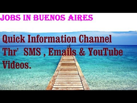 Jobs in BUENOS AIRES   City for freshers & graduates. industries, companies. ARGENTINA