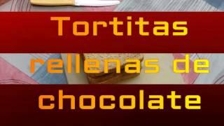 Tortitas rellenas de chocolate RAPIDO Y FACIL!!