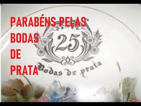 Video Mensagem De Aniversario Bodas De Prata 25 Anos De Casamento